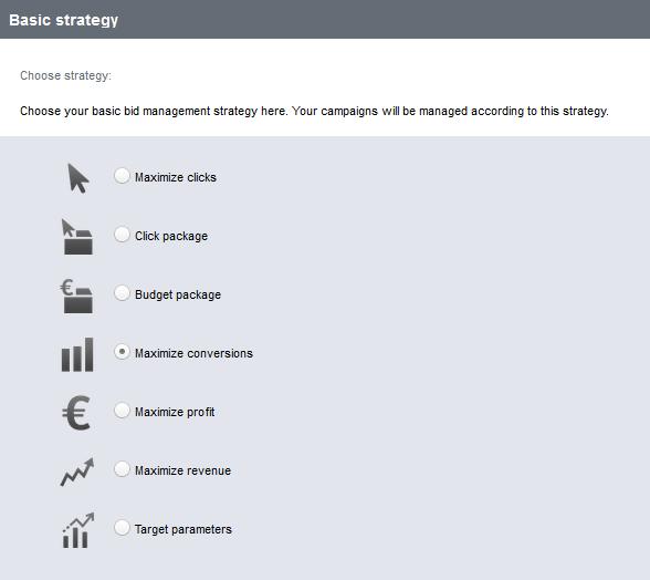 Bid Management Strategie