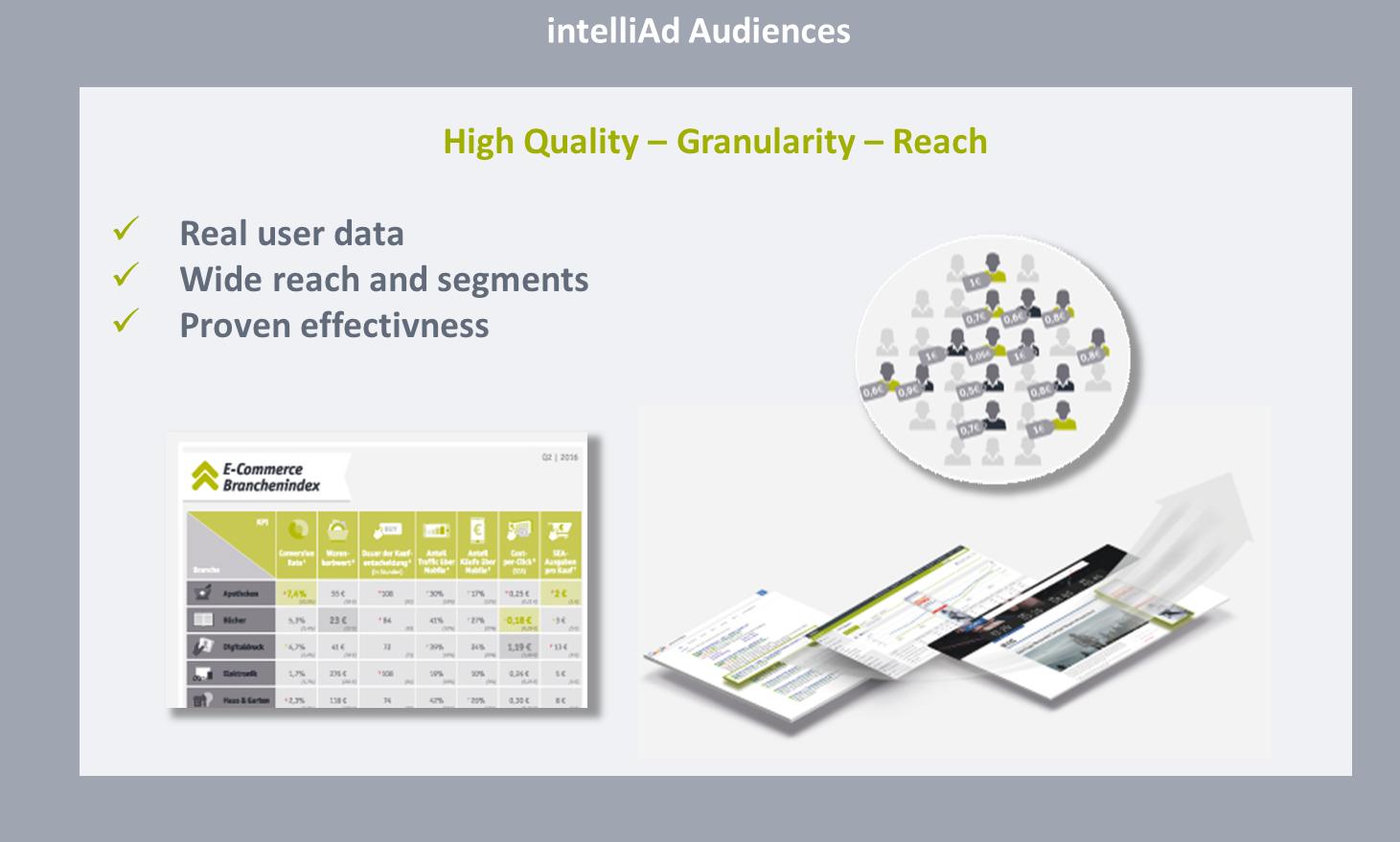 intelliAd Audiences