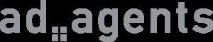 Logo ad agents GmbH grau