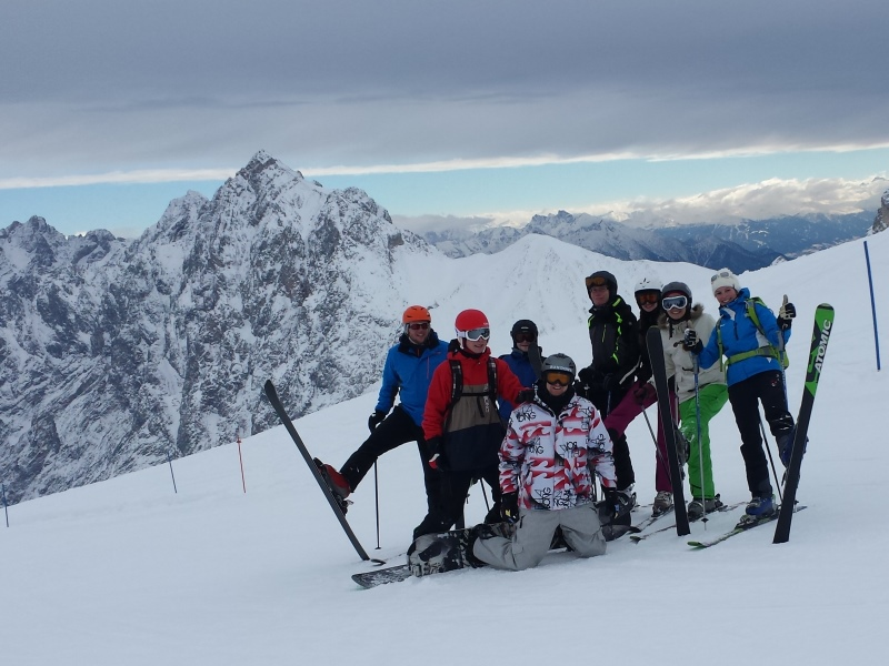 Skiing as a Team-Building session