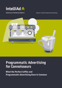 Whitepaper Beginner's Guide Programmatic Advertising